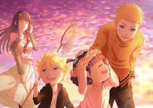 uzumaki family of 2015 boruto naruto the movie - anime characters boruto characters-f31884